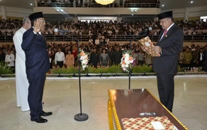 Lantik Sekprov, Gubernur Harap Silangen Laksanakan Tugas dengan Baik