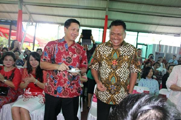 Kegembiraan duet OD-SK di HUT Gubernur ke-55