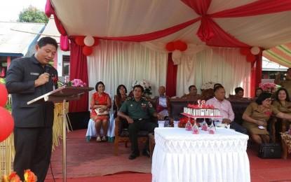 Kumendong Wakili Gubernur Hadiri HUT Desa Maulit