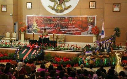 Pemprov Sulut Gelar Ibadah Natal Bersama