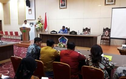 Sekprov Silangen Terima Kunjungan Komisi IX DPR RI