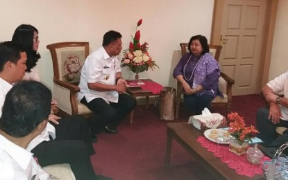 Ambasador Filipina Maria Lumen Temui Gubernur Sulut