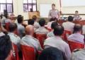 Kapolres Arya Perdana Minta Bhabinkamtibmas Intensif Sambangi Desa