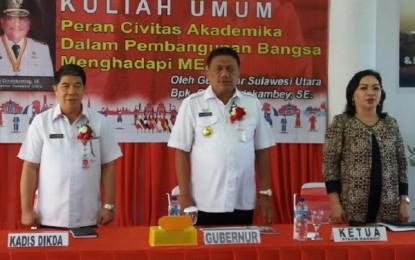 Jadi Keynote Speech di STAKN, Gubernur Ajak Mahasiswa Siap Hadapi MEA