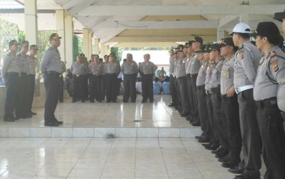 Pasukan Pengamanan Pilkada Bolmong Ditarik