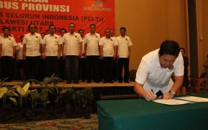 Kandouw Nahkodai PELTI Sulut, Lumentut Terus Beri Dukungan