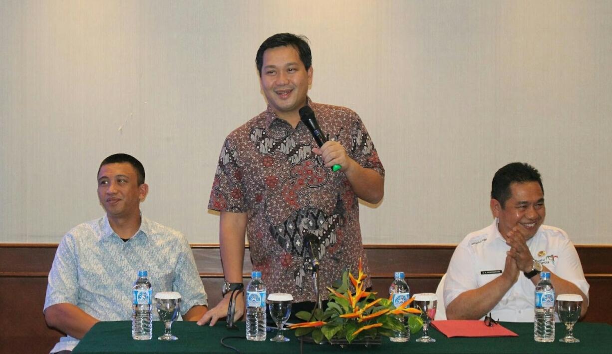 Wagub Steven Kandouw saat memberikan arahan terkait promosi pariwisata Sulut