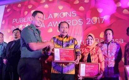Pemkot Raih Publik Relation Indonesia Award 2017