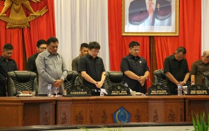 DPRD Sulut Gelar Rapat Paripurna Penyampaian LKPJ Gubernur TA 2016