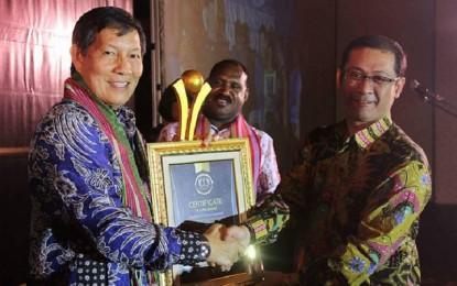 Raih IMA 2017, GSV Lumentut juga Dinobatkan sebagai Walikota Terbaik di Indonesia