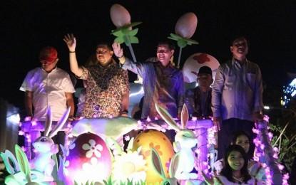ODSK Lepas Parade Kerukunan, Pemkot Manado Tampil Unik