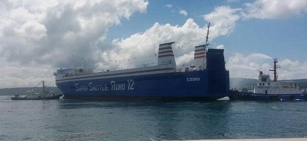 Kapal Roll On/ Roll Off (RoRo) yang melayari rute Davao - General Santos - Bitung