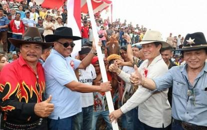 Gubernur Tutup Kejuaraan Pacuan Kuda di Gelanggang GBM Paniki