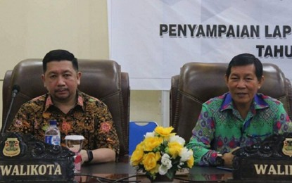 Di Paripurna DPRD Manado, Walikota Jelaskan Dana Bencana dan PD Pasar