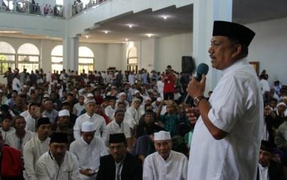 Usai Hadir di Masjid A Yani, Gubernur Bersilaturahmi ke Forkopimda