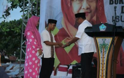 Megawati dan Gubernur Olly Buka Puasa Bersama Dengan 1000 Anak Yatim Piatu