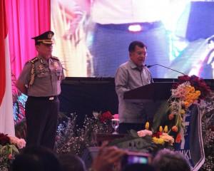 Wapres Kalla Apresiasi Kerukunan dan Kedamaian di Sulut