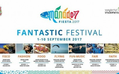 Manado Fiesta 2017 Spectakuler Dilaunching Walikota Manado