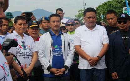 Menpora RI dan Gubernur Sulut Buka Gala Desa Gowes dan Kejurnas Selam
