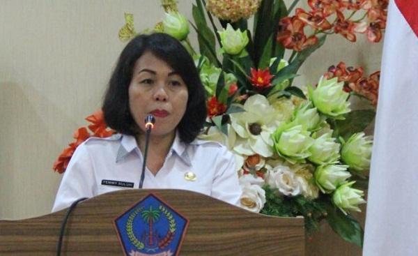 Dr. Femmy Suluh MSi, Kepala BKD Prov Sulut