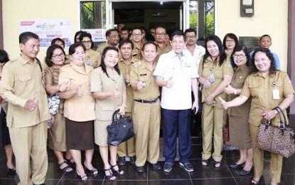Walikota GSVL Kunker di Kecamatan Tuminting