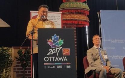 Gubernur Olly Dondokambey Paparkan Peluang Investasi Sulut di Forum Bisnis Internasional Indonesia a�� Canada