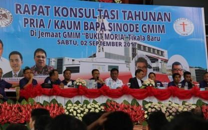 Inilah Harapan Gubernur saat Hadiri Rapat Konsultasi PKB Sinode GMIM