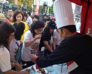 Spektakuler, Iven Festival Food, Jadi Agenda Tahunan  Memasak Bahan Baku Lokal, Go International