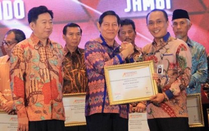 Manado Raih Attractiveness Award 2017