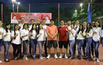 Sulut Tenis Tournament 2017 Dibuka Wagub Kandouw