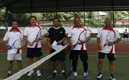 ODSK Apresiasi Kejuaraan Tenis Pangdam XIII Merdeka Cup