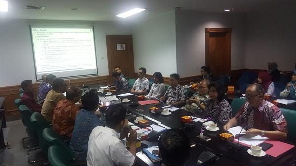 Rapat pembahasan usulan pembangunan Bandara Lembe bersama Pemerintah pusat