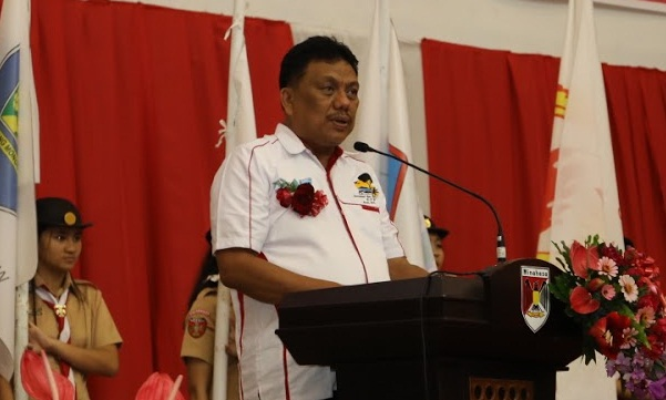 Gubernur Sulut Olly Dondokambey SE