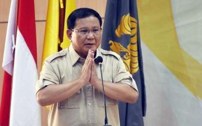 Prabowo Ajak Kader Gerindra Menangkan Pilpres