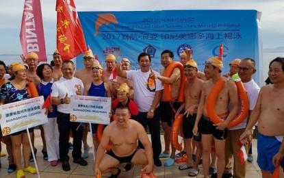 Wagub Kandouw – Turis Tiongkok Ramaikan Swim Fest 2017
