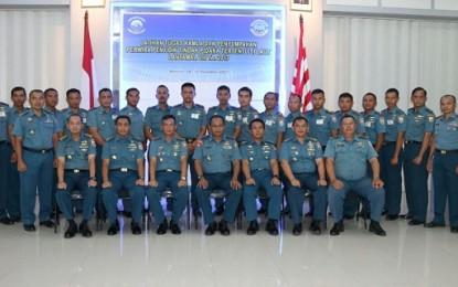 Ada 17 Perwira TNI AL Ikuti Latihan Tugas Keamanan Laut di Lantamal VIII Manado