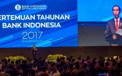 Gubernur Sulut Hadiri Pertemuan Tahunan BI yang Dibuka Presiden RI Joko Widodo