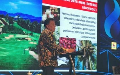 Gubernur Sampaikan Potensi dan Keunggulan Sulut di Acara Kompas 100 CEO Forum