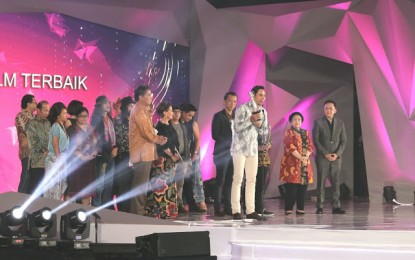 Megawati-Olly Dodokambey Hadiri Malam Puncak FFI 2017 d Manado