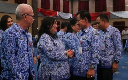Gerbong Kabinet Cerdas Terus Bergerak, Ada 29 Pejabat Dilantik GSVL – Mor