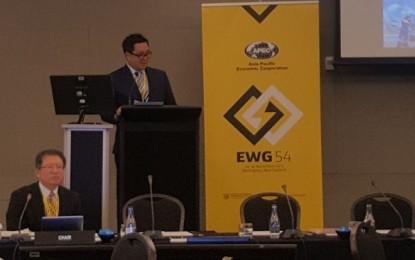 Wagub Kandouw jadi Pembicara Tamu di 4th APEC/EWG New Zealand