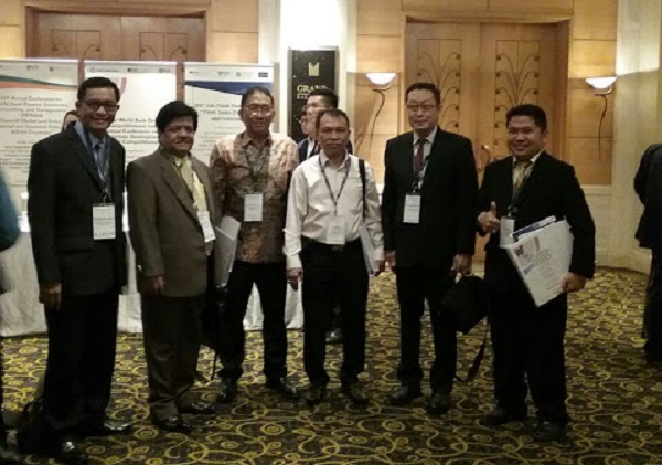 Sekprov Sulut Edwin Silangen SE MS saat hadiri kegiatan di SIngapura