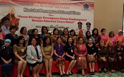 Lahirkan Deklarasi Bersama, Perempuan Sulut Makin Hebat dan Bermartabat