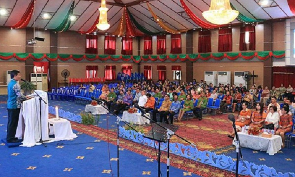 Perayaan pra Natal ANS Pemkot Manado
