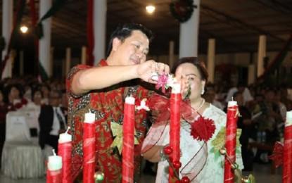 Wagub Kandouw Ajak Jemaat GPdI se-Sulut Terus Bersyukur dan Jaga Toleransi