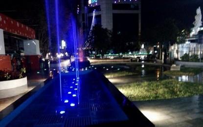 Pertama di Kawasan Indonesia Timur, A�GSVL Launching Dancing Fountain di TKB