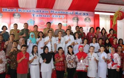 Gubernur Hadiri HKN ke 53 di Kabupaten Minahasa Tenggara