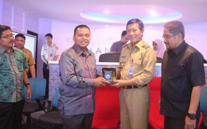 Walikota Sawahlunto Sambangi Pemkot Manado