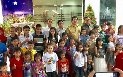 PT MSM/TTN Serahkan Bantuan pada Anak Anak Korban Bencana di Natal JIPS
