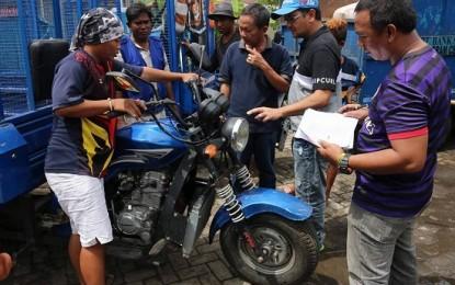 Motor Pengangkut Sampah di 11 Kecamatan Didata Pemkot Manado